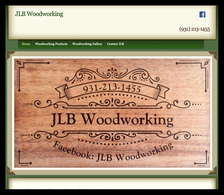 JLB Woodworking Website.