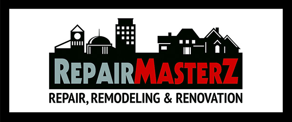 Repair Masters Repair, Remodeling, and Renovation Logo Design.