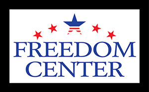 Torch Technologies Freedom Center Logo Design.